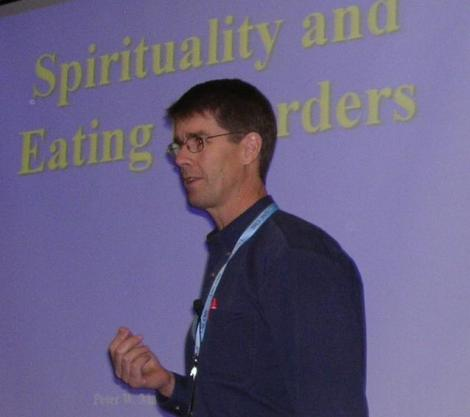 Peter Maffly-Kipp speaks on spirituality and eating disorders at UNC Eating Disorders Conference