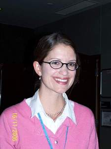 Jennifer at our 2006 conference