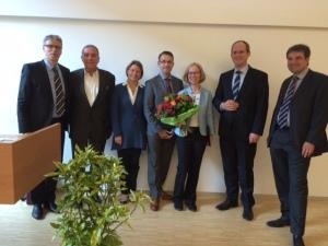 Prof. Dr. Stephan Zipfel, Dr. Wulf Bertram, Dr. Gaby Resmark, Prof. Patrick Sullivan, Prof. Cynthia Bulik, Prof. Dr. Tobias Renner, Prof. Andreas Fallgatter (c)Weiche, Schattauer Verlag